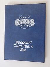 "San Francisco Giants Baseball Card Team Set Binder 6"" x 8"" Holds up to 64 Cards"