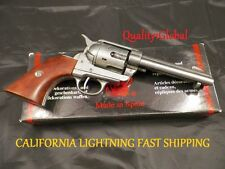 NEW WOOD HEAVY METAL REPLICA FAST DRAW M1873 MOVIE PROP Pistol Hand Gun Training