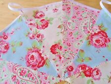 Cath Kidston Floral Fabric Bunting Wedding Tea Party Vintage Rustic 10FT