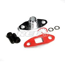 GT25 GT28 T25 T28 GT30 GT35 garrett -10 10an turbo oil drain flange adaptor