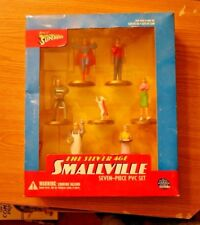 DC Direct 2001 The Silver Age Smallville Seven Piece PVC Set