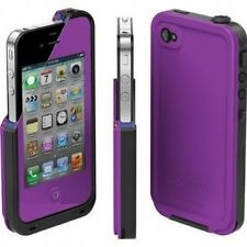 New LifeProof iPhone 4/4s Case Water Proof Dirt Proof Snow Proof Shock Purple