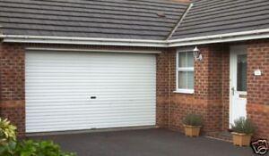 GLIDEROL ROLLER GARAGE DOOR  upto 10 ft wide , any like for like price beaten