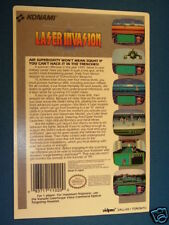 LASER INVASION NES 8 Bit Nintendo Vidpro Card