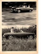 1965 MG MGB 1800 ~ ORIGINAL 4-PAGE ROAD TEST / ARTICLE / AD