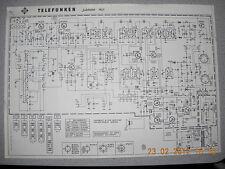 TELEFUNKEN Radio Jubilate 401 Schaltplan