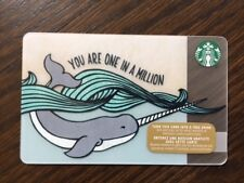 """Canada Series Starbucks """"YOU ARE ONE IN A MILLION 2015"""" Gift Card - New No Value"""