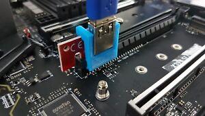 PCI-E Riser Locking Clip Clamp, PCIE for GPU Mining Ethereum, Monero, set of 12