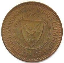 1963 Cyprus 5 Mils Coin