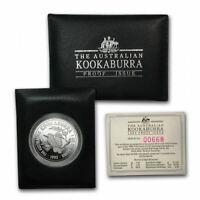 1993 KOOKABURRA 1oz Silver Proof Coin