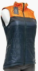 Velocio Women Recon Vest LARGE Fire Red Blue Road Bike Gravel Mountain Cycling