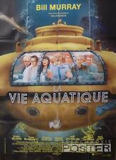 THE LIFE AQUATIC - MURRAY / ANDERSON / WILSON / SUBMARINE -ORIGINAL MOVIE POSTER