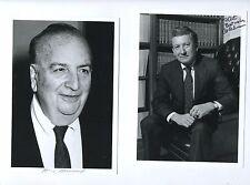 autograph collection lot 15 NOBEL PRIZE biology chemistry Milton Friedman + more