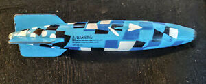 "Vintage ORIGINAL SwimWays Toypedo Gliding Underwater Torpedo Pool Toy 11.5"""