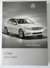 2011 Mercedes C Class Owners Manual