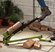 Logmaster Foot Operated Log Splitter Portable Manual 1.2 Ton Wood Cutter Chopper