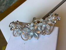 Lovely Diamante Crystal  Hair Clip Vintage  Ladies Hair Clip....