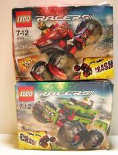 Lego Racers, 9092 Crazy Demon & 9095 Nitro Predator, Box Damage, Sealed
