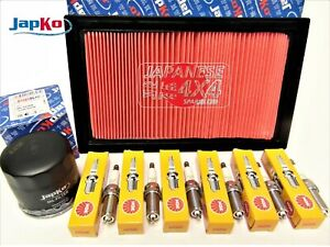 fits NISSAN ELGRAND 3.5V6  E51  Oil/Air Filter & Spark Plug Kit  2002-31/09/2007