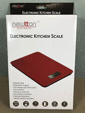Brand New In Box Newtton Australia Brand Electronic Kitchen Scale Set 5kg LCD