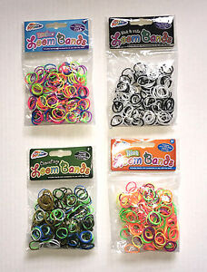 300 packs of 300 loom bands christmas stocking fillers wholesale party bag b new