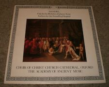 Handel Ode For The Birthday Of Queen Anne Christ Church Cathedral~UK Import~FAST