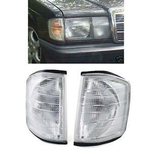 Blinker weiß - Paar für Mercedes 190 W201 82-93