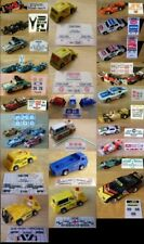 $6.75 AFX, TOMY & AJ's Oscar The Track Cleaner Slot Car Repro Sticker Sets!!!