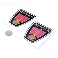 Rover Badge Sticker Decal Classic Car Vinyl 100mm x2 SD1 25 45 75 MG