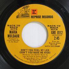 Pop 45 Maria Muldaur - Don'T You Feel My Leg (Don'T You Make Me High) / Midnight
