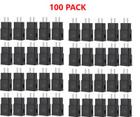 100X LOT ADAPTIVE FAST CHARGING WALL CHARGER ADAPTER FOR SAMSUNG S6/7 NOTE BLK