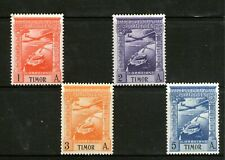 PORTUGESE TIMOR /1938 SPECIAL AIRMAIL ISSUES (MINT-HINGED)(UNWATERMARKED)