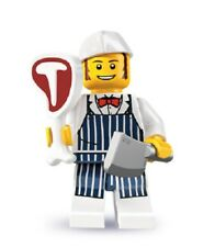 LEGO Minifigures Series 6 8827 #14 butcher grocer male BN mini figure grocer