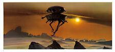 STAR WARS MCQUARRIE EMPIRE - 50 X 15 CM - ILLUSTRATION N°04 PORTFOLIO - VINTAGE
