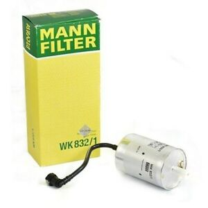 NEW Fuel Filter OEM Mann WK 832/1 For Porsche 911 Carrera Targa Boxster Cayman