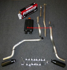 05-12 Toyota Tacoma Catback Dual Exhaust Side Exit - Flowmaster Super 44