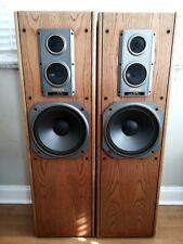 Yamaha Speakers Vintage Floor-Standing Tower Stereo NS-A400 3 Way 140 Watt