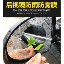 Car Anti Fog Film Nano Coating Rear View Mirror Window Protective Rainproof 2pcs