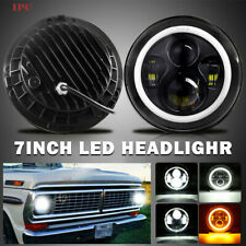7 Halo Led Headlight Withturn Signal For 1953 1977 Ford F 100 F 250 F 350 Pickup Fits More Than One Vehicle