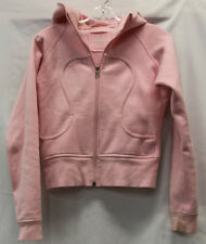Lululemon Womens Pink Scuba Sweatshirt Size 6 Excellent Used Condition NICE