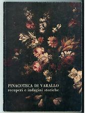 PINACOTECA DI VARALLO RECUPERO INDAGINI STORICHE 1981 CATALOGO MOSTRA VALSESIA