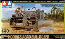 TAMIYA 1/48 Komatsu G40 Bulldozer giapponese blu navy #32565