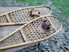 "Made In Canada snowshoes Snow Shoes 48� L-12"" W nice Camp Homestead Decor lodge"