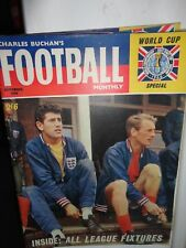 Football magazine charles Buchan's monthly 1966 world cup issue 181 Bonetti East