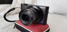 Sony Cyber-shot RX100 - 20.1MP Digital Camera - Black - Very good Condition