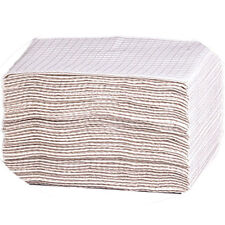 2-Ply Diaper Changing Pad 500pc Plastic Lined 19x13in Baby Station Disposable