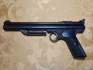 Crosman Model 130 .22 Pellet Pistol, Resealed and Working