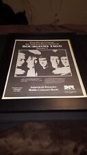 Bourgeois Tagg Rare Original King Biscuit Concert Promo Poster Ad Framed!