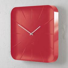 SIGEL Design Quarz Wall Clock Inu Artetempus WU142 Office Quartz Red