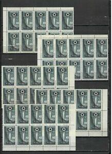 s31808 DEALER STOCK TURKEY 1958 MNH** National Industry 1v. (n. 50 sets)
